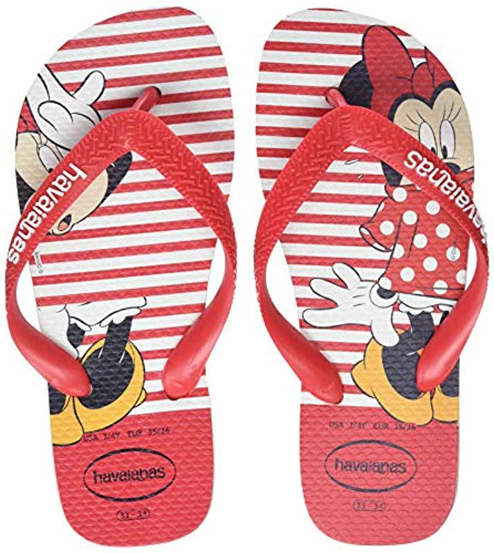 4b7ea1b935b ... Adults  Disney Stylish Flip Flops - Lyst. View fullscreen