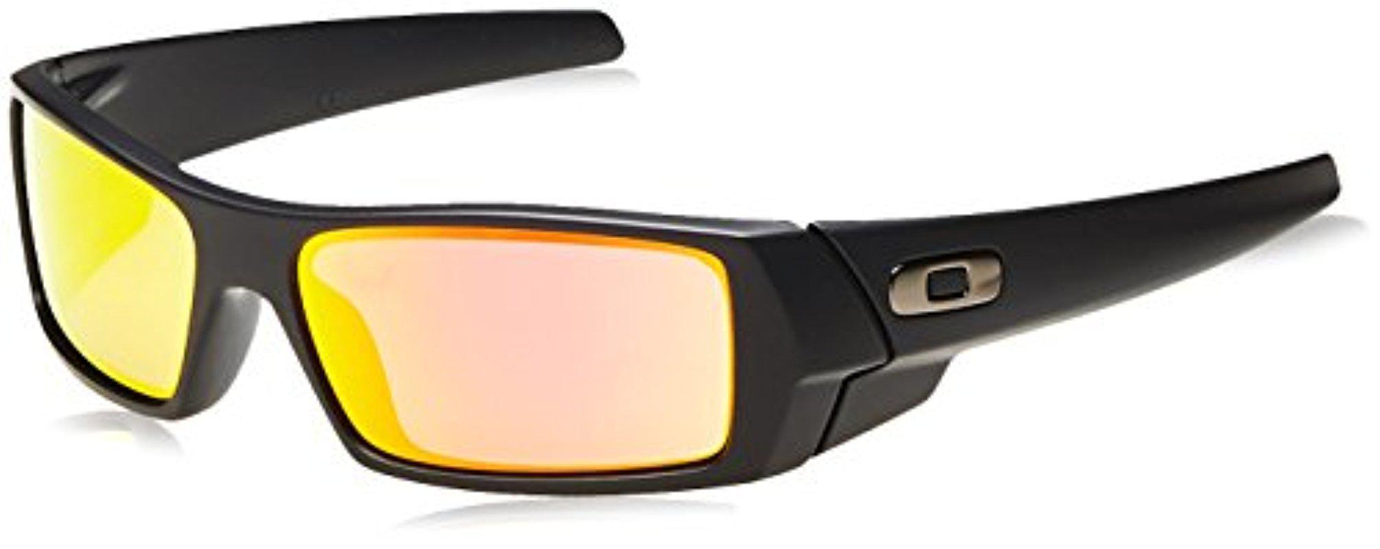 d9db6e6686 Lyst - Oakley Oo9014 Gascan Sunglasses in Black for Men