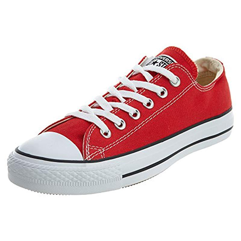 e69c352c46c Lyst - Converse Chuck Taylor All Star Seasonal Canvas Low Top ...