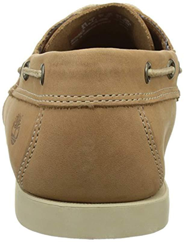 96e36919337 Timberland Cedar Bay Boat Shoes in Natural for Men - Save 5% - Lyst