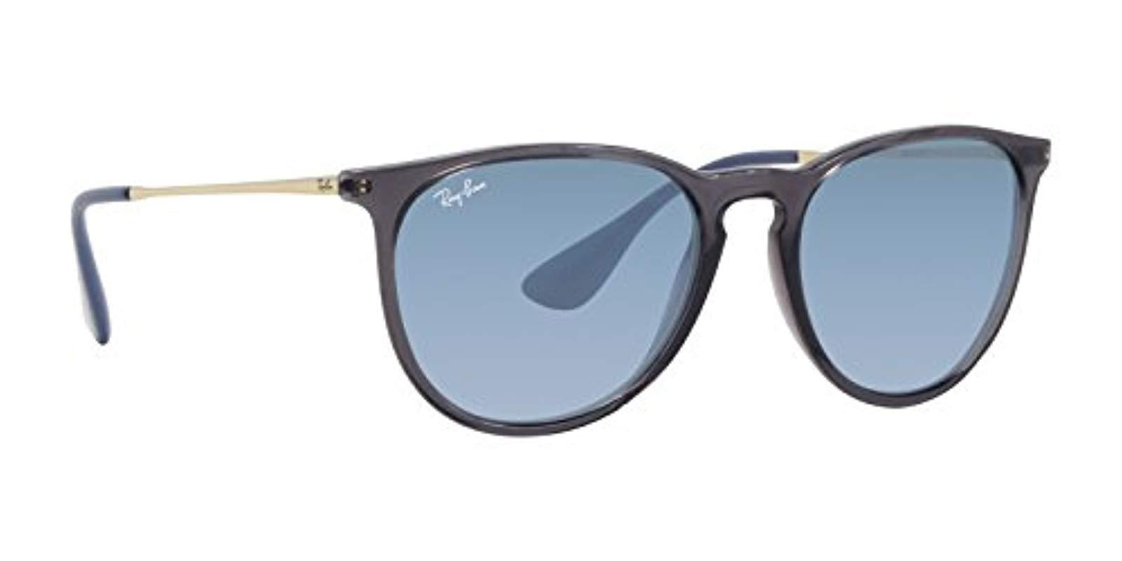470d77f8549 Lyst - Ray-Ban Erika Velvet Rb4171 Sunglasses in Gray - Save ...