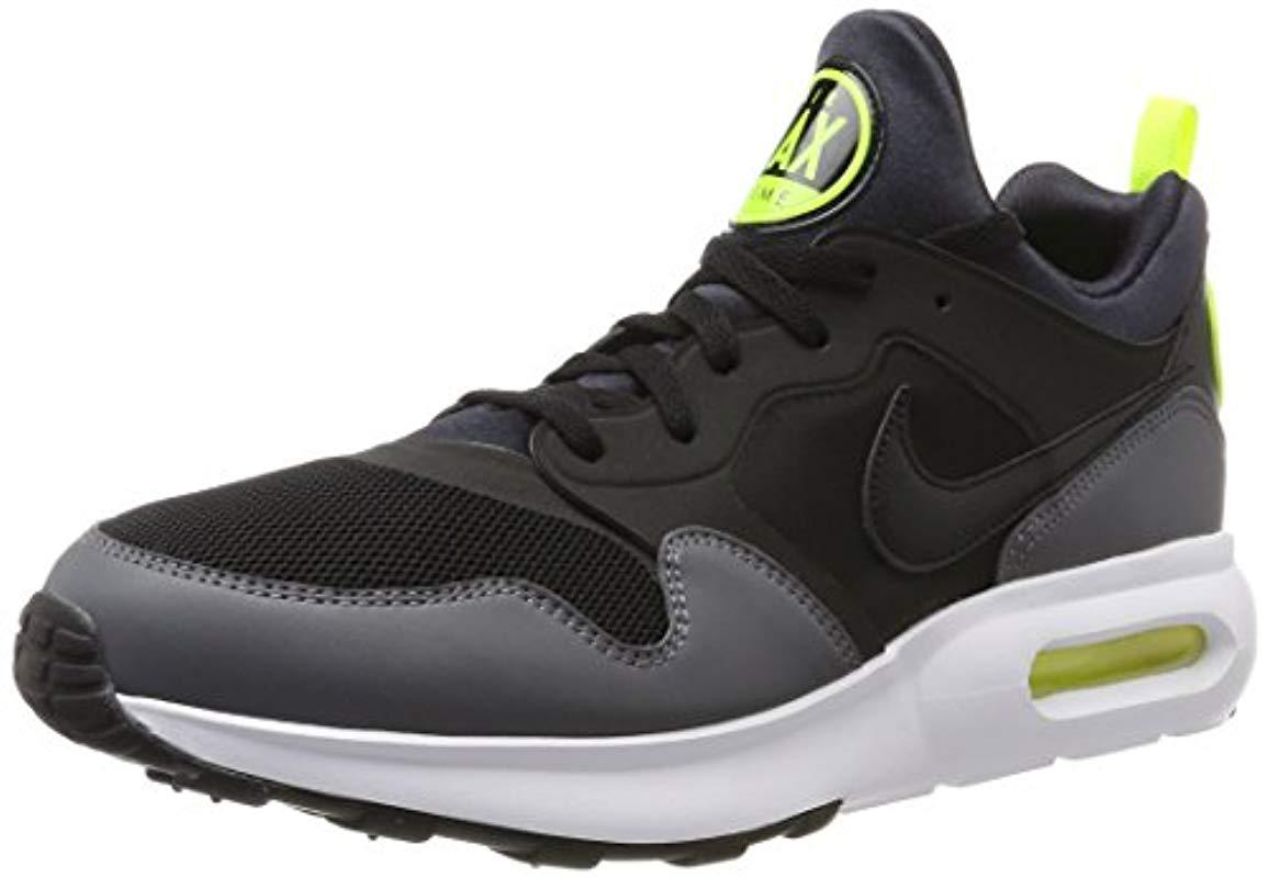 buy popular 2848b 7b697 Nike - Air Max Prime Sport Shoes Black in Black - Lyst