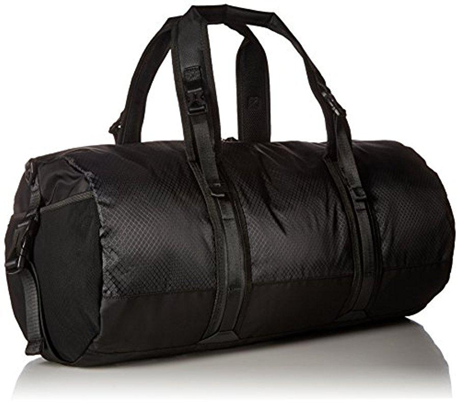 066bc320551b5 Lyst - Lacoste Match Point Nylon Duffle Bag in Black for Men
