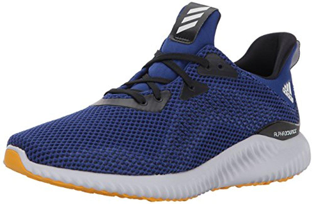 3fd8ad964fa0e Lyst - adidas Performance Alphabounce M Running Shoe in Blue for Men ...