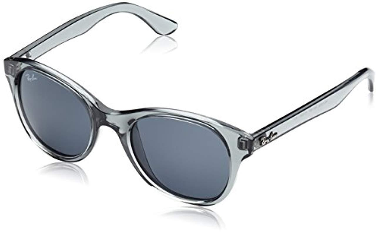 f2e691bcf4 Ray-Ban Unisex Sunglasses Rb4203 in Gray - Lyst