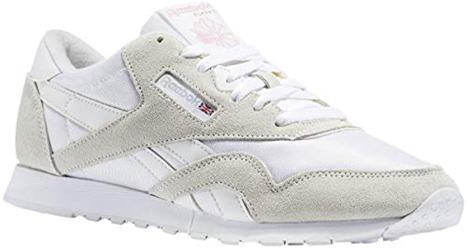 58c7747086a Reebok Classic Nylon Gymnastics Shoes in Gray - Lyst