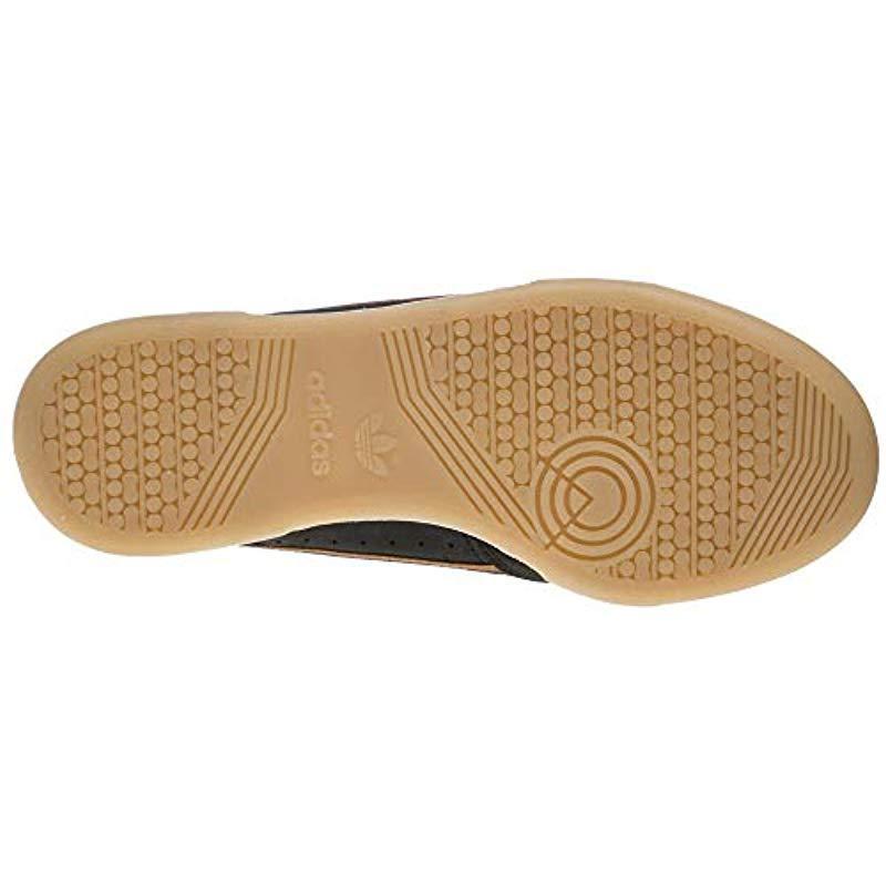 designer fashion 42435 33c72 View fullscreen  best service addc9 5b7ae Adidas - Black Continental 80 Gymnastics  Shoes White for Men - Lyst