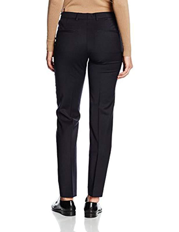 Filippa K Luisa Cool Wool Slacks Trousers in Blue - Lyst ff532038eb9fe
