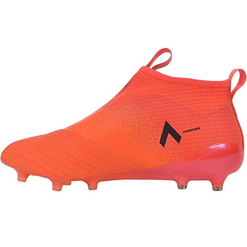 free shipping 56c80 64d48 Adidas Ace 17+ Purecontrol Fg, s Sneakers in Orange for Men