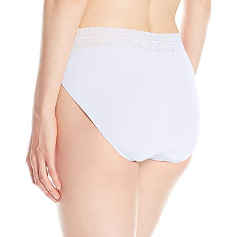 Bali Comfort Revolution Seamless High-cut Brief Panty in