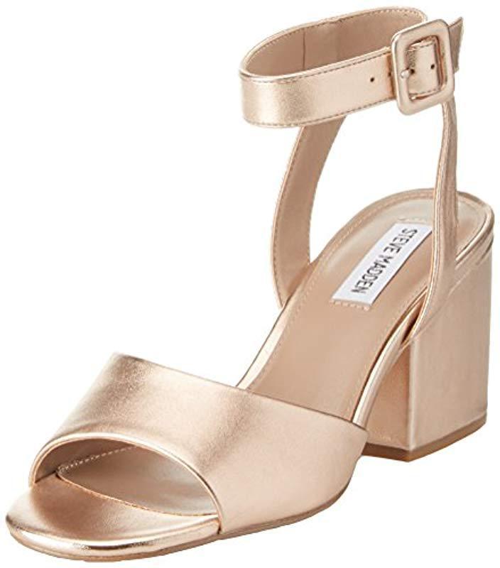 996139c82b1 Steve Madden. Women s  s Debbie Open Toe Sandals ...