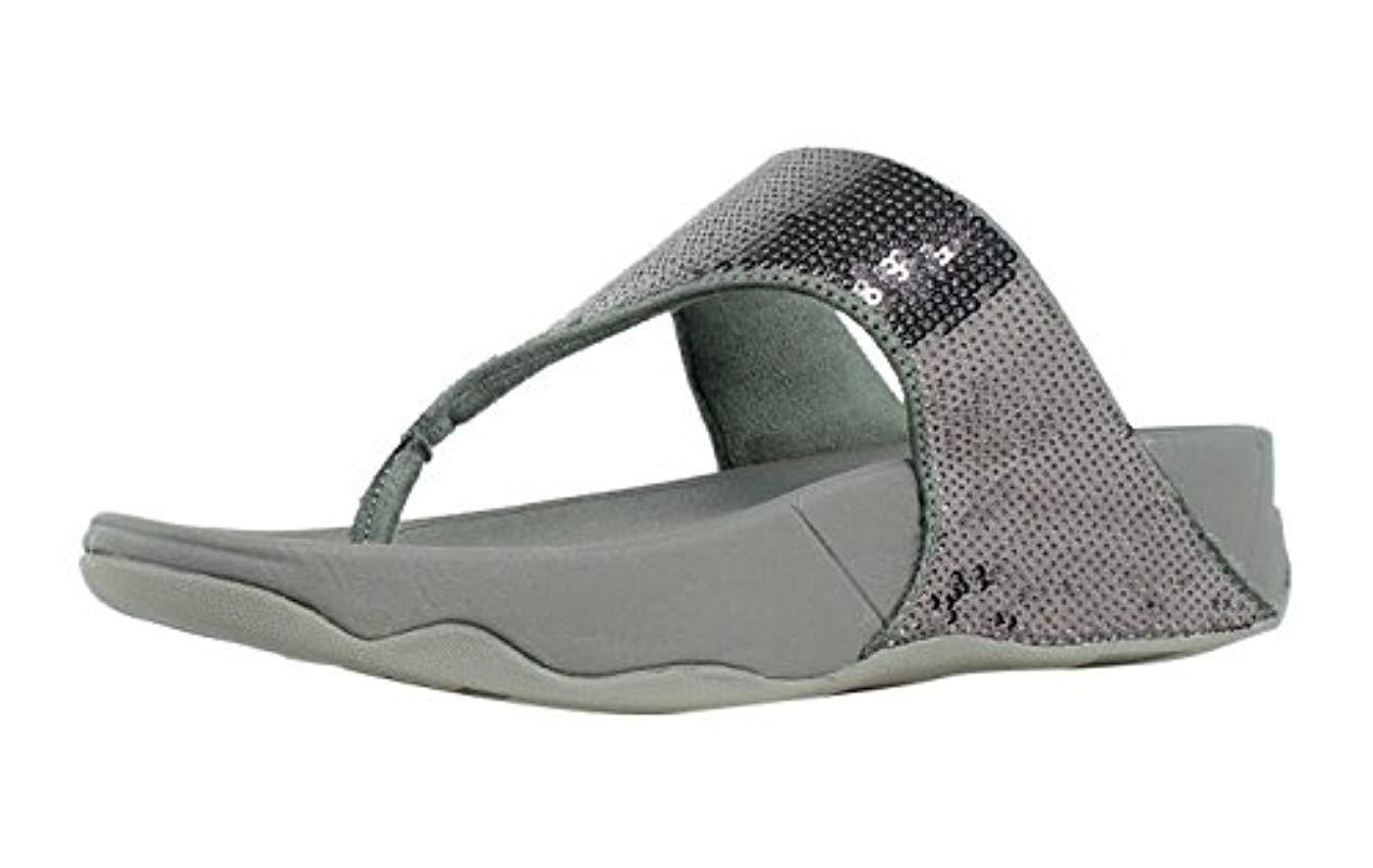 586c0a60c76c7b Fitflop - Multicolor Electra Classic Sequin Flip-flop Sandal - Lyst. View  fullscreen