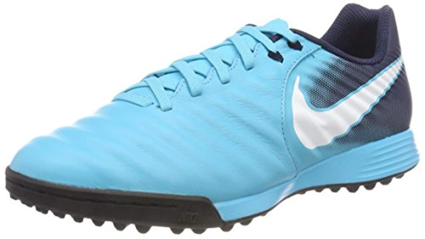 2e53ea15041a Nike Tiempox Ligera Iv Tf Football Boots in Blue for Men - Lyst