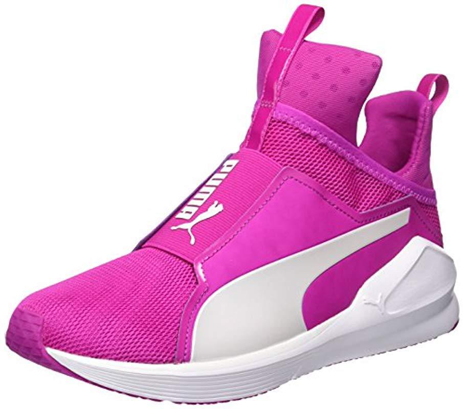 bf61a7380ac Lyst De Coloris En Fierce Puma Fitness Femme Rose Chaussures Core vrrwq