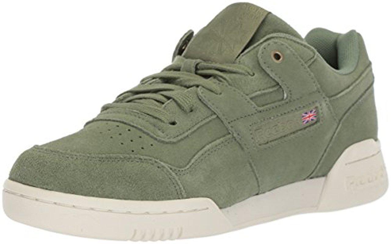 e51124e9eb3 Lyst - Reebok Workout Plus Mcc Sneaker in Green for Men