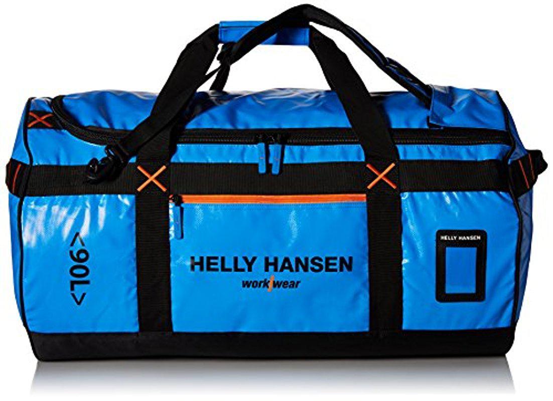 c33370d5b7 Helly Hansen Workwear 90-liter Duffel Bag in Blue for Men - Lyst