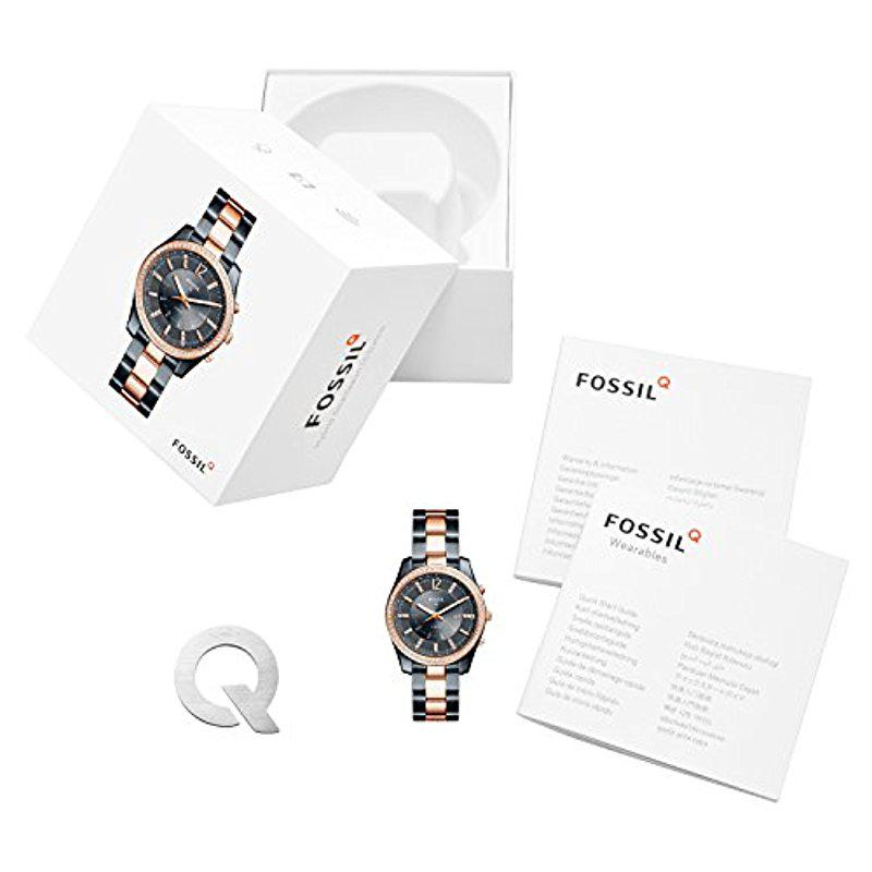 81b6fbd1c Fossil Hybrid Smartwatch - Q Scarlette Two-tone Stainless Steel ...