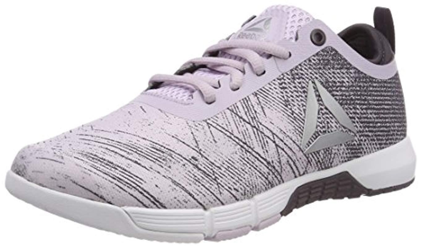 e3e61cf774a8ae Reebok Grace Tr Fitness Shoes in Gray - Lyst