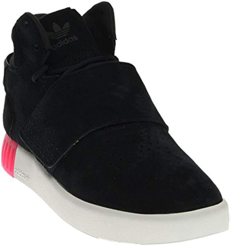 huge selection of 60e54 57ae3 adidas Originals. Men s Black Tubular Invader Strap W Fashion Sneaker