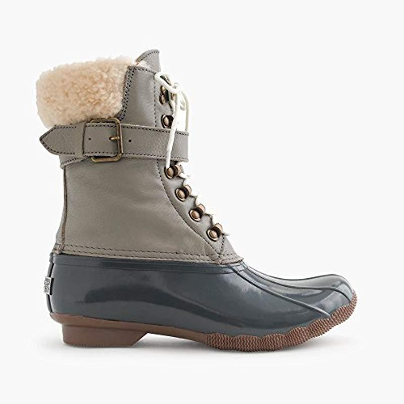 98f45de8d4f2 Lyst - Sperry Top-Sider Shearwater Snow Boot in Gray