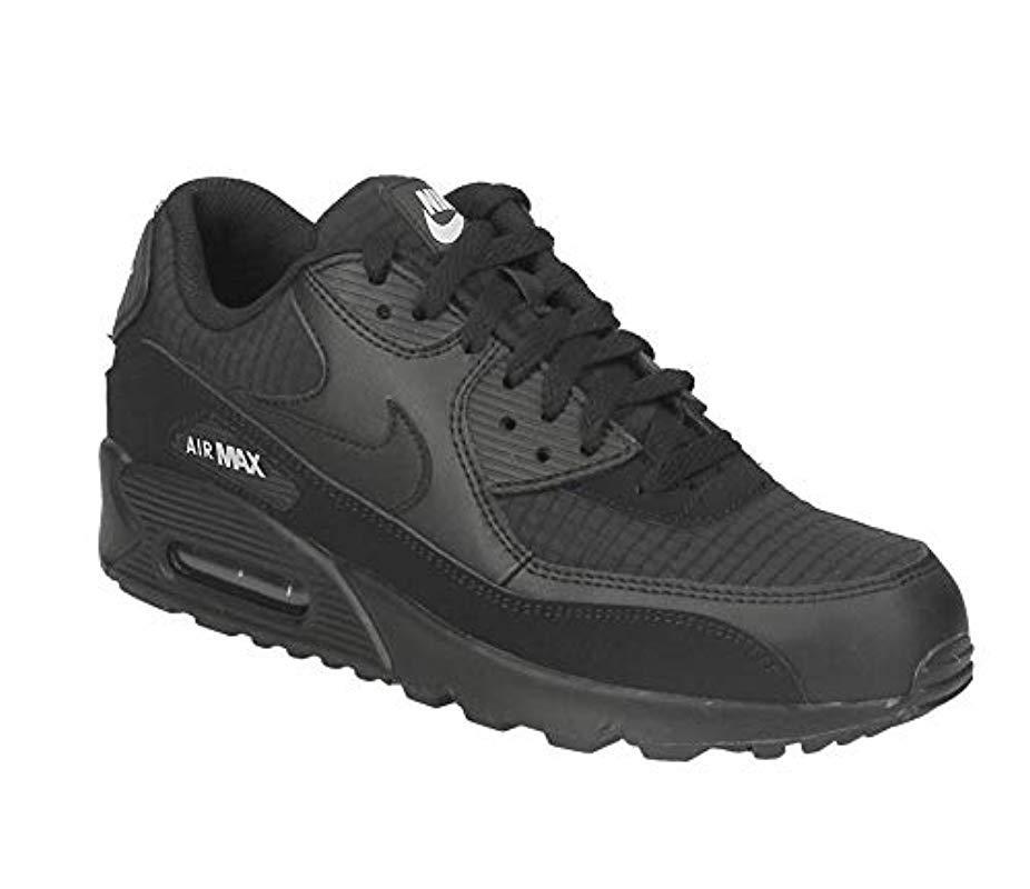 brand new 05a93 52eec Nike. Men s Black Air Max  90 Essential Gymnastics Shoes