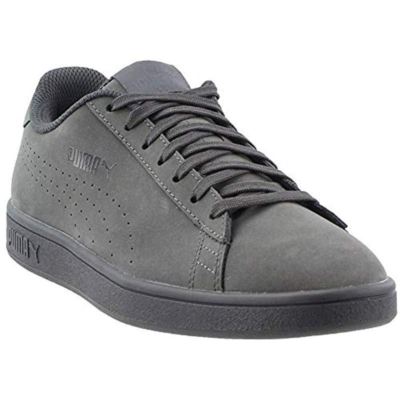 Lyst - PUMA Smash V2 Nbk Sneaker in Gray for Men 995f92ba5