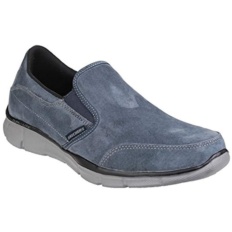 Skechers Equalizer- Mind Game,  s Trainers in Blue for Men - Lyst 4dce1424ba