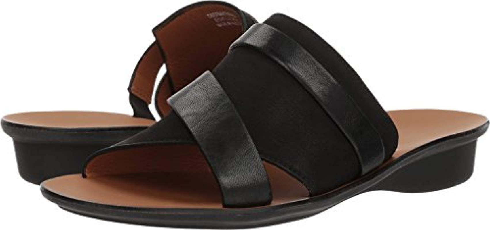 fb4783827 Lyst - Paul Green Bayside Slide Sandal in Black