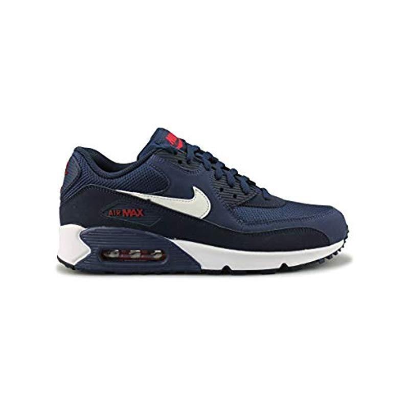 new arrivals a2140 dfa59 Nike. Men s Blue Air Max 90 Essential Gymnastics Shoes, Multicolour ...