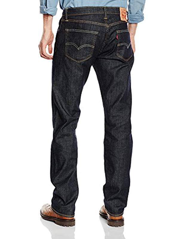 f38ae604 Levi'S 504 Regular Straight Fit Jeans in Blue for Men - Lyst