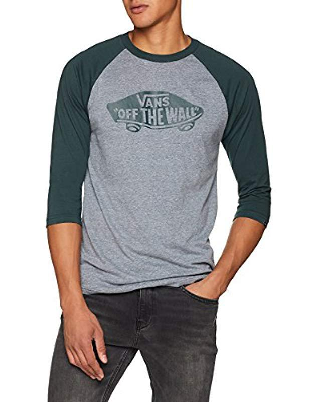 fb064115e9 Vans Otw Raglan T-shirt in Gray for Men - Lyst