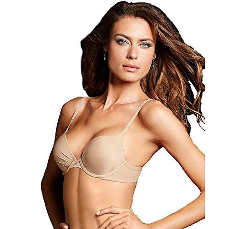5288b7af1f845 Lyst - Maidenform Ultimate Tailored Push Up Bra in Natural