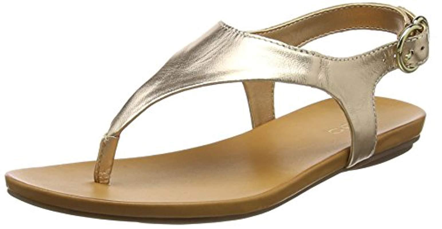 200395244af ALDO  s Jerilassi Ankle Strap Sandals in Metallic - Lyst