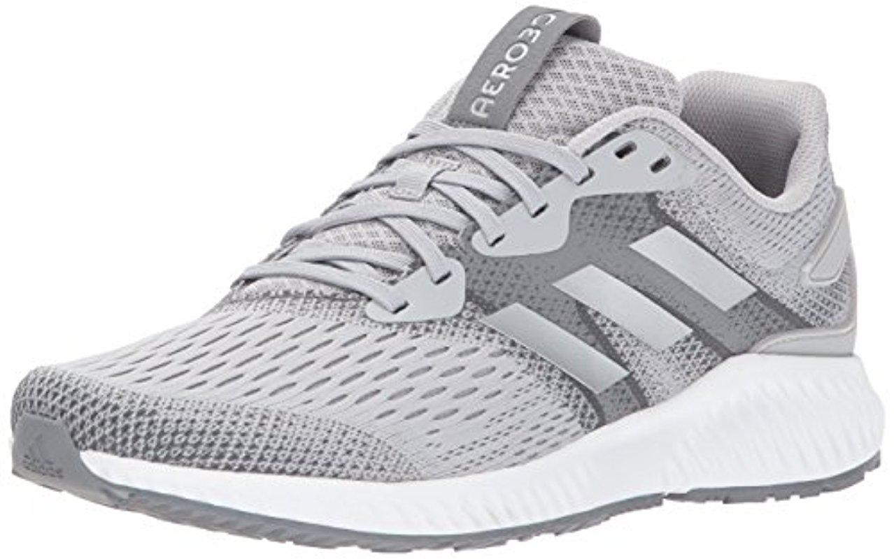 newest collection 0414d ae8a3 adidas. Gray Aerobounce M Grey Two silver Metalic grey Five Running Shoe  11.5 Men Us