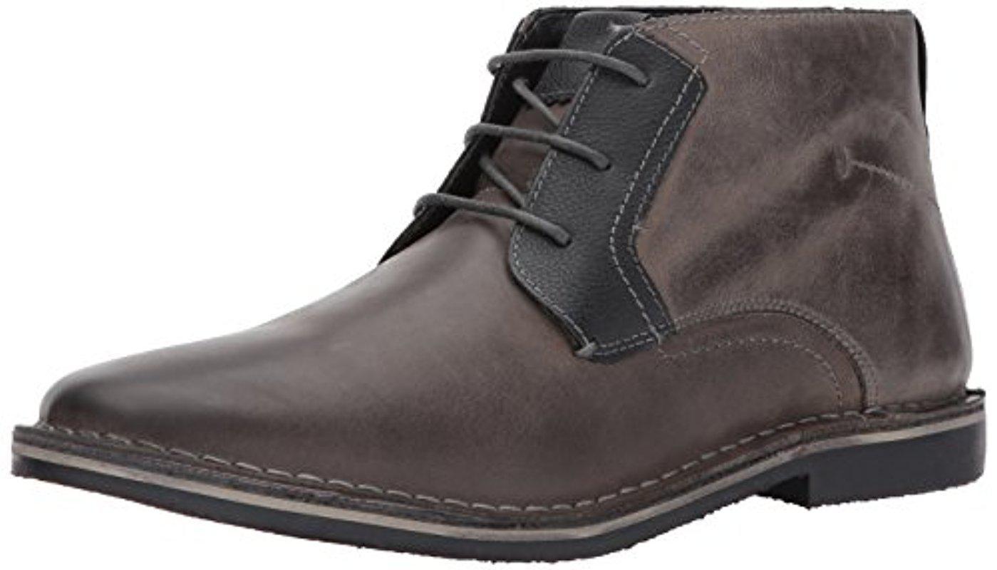 8ddb13be96f Lyst - Steve Madden Herrin Chukka Boot in Gray for Men