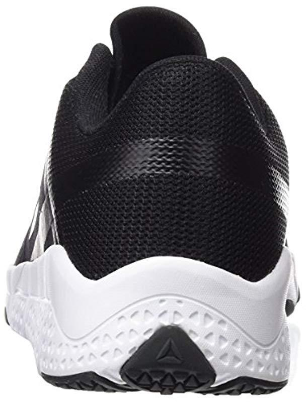 ad14310ac7b230 Reebok  s Trainflex Fitness Shoes in Black for Men - Save  55.714285714285715% - Lyst