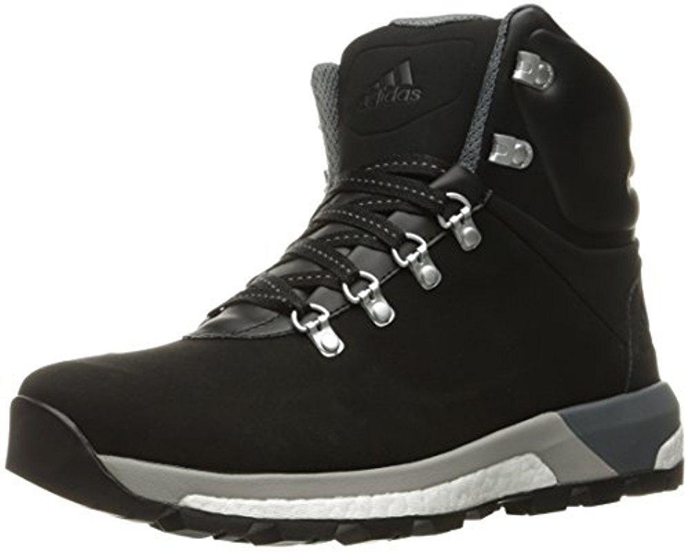 lyst adidas originals cw pathmaker wanderstiefel in schwarz für männer