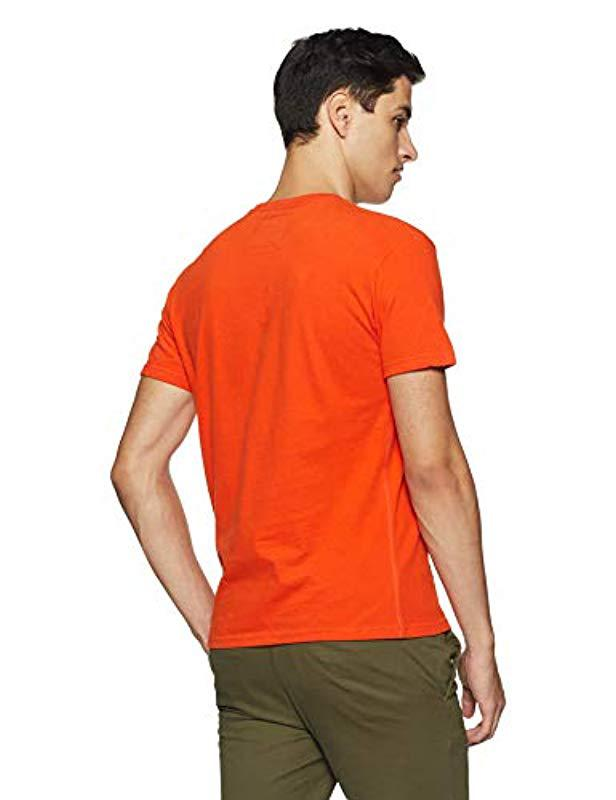 0e04913f Superdry Vintage Logo Entry Tee Kniited Tank Top in Orange for Men - Lyst