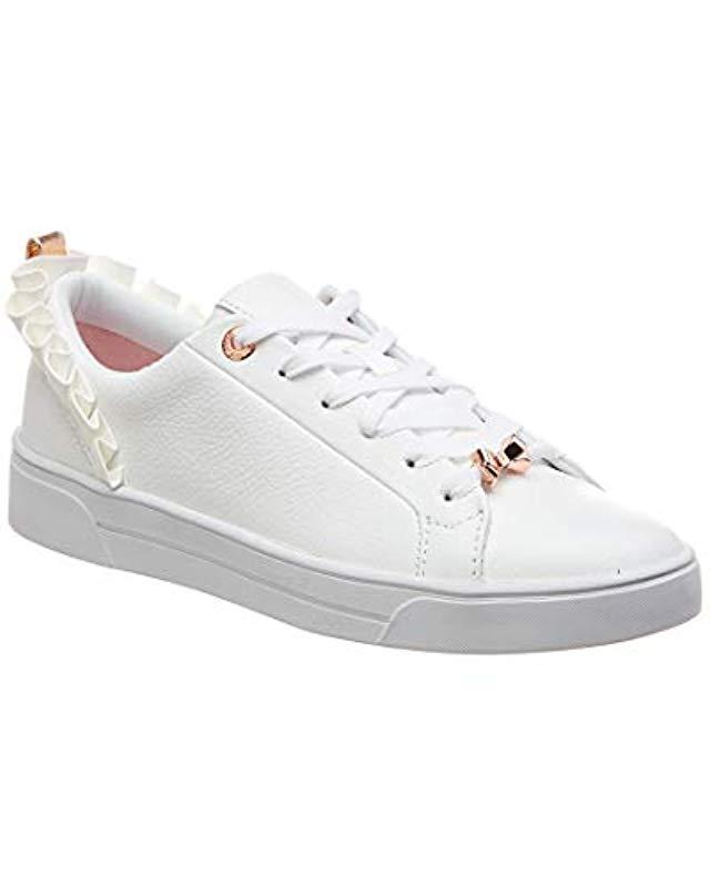 9af074714ea4 Lyst - Ted Baker Astrina Sneaker in White