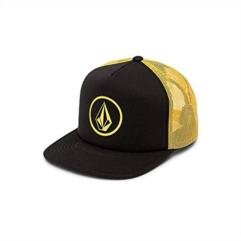 75e42a5af1543 Volcom Full Frontal Cheese 5 Panel Trucker Hat for Men - Save 5% - Lyst