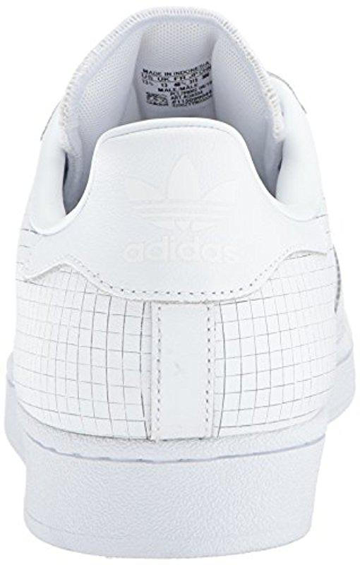 super popular 66b29 1872a ... reputable site 5cc27 a6586 Adidas Originals - White Superstar Fashion  Sneaker for Men - Lyst.