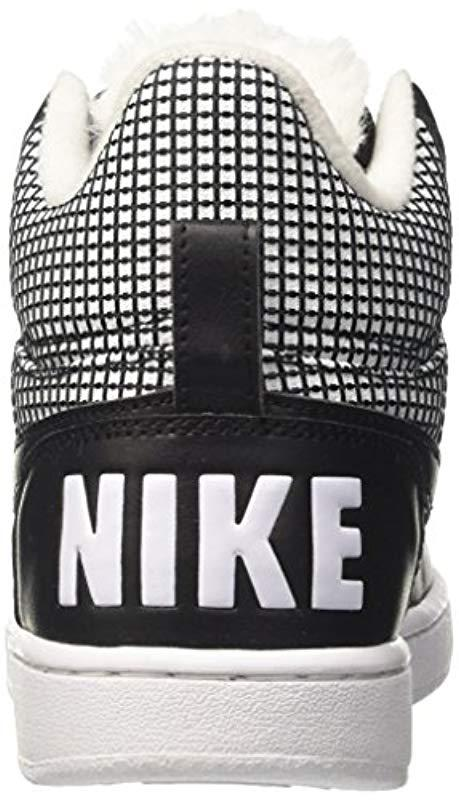 8d2c7692a7abc Nike - White Court Borough Mid Se Basketball Shoes - Lyst. View fullscreen