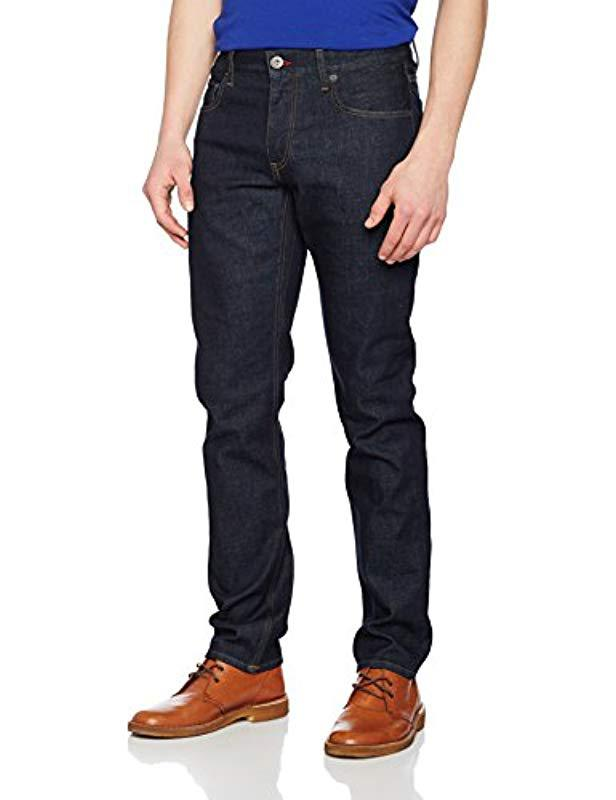 50159baf Tommy Hilfiger Mercer-str Brooker Blue Jeans in Blue for Men - Lyst