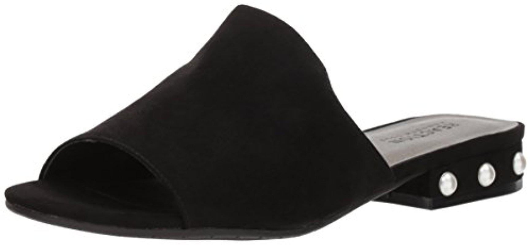 Women's Vikki Slip Embellished Heel Slide Sandal