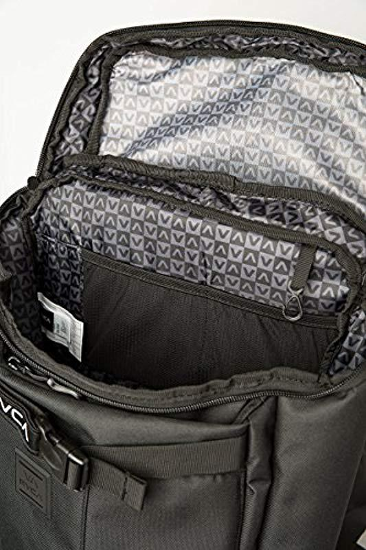 RVCA - Black Voyage Skate Backpack for Men - Lyst. View fullscreen 6975da357c1db