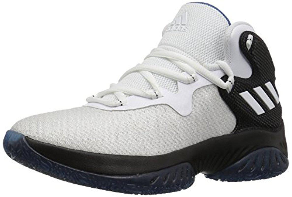 7eda0a607 Lyst - adidas Kids  Explosive Bounce J Basketball Shoe in White for Men