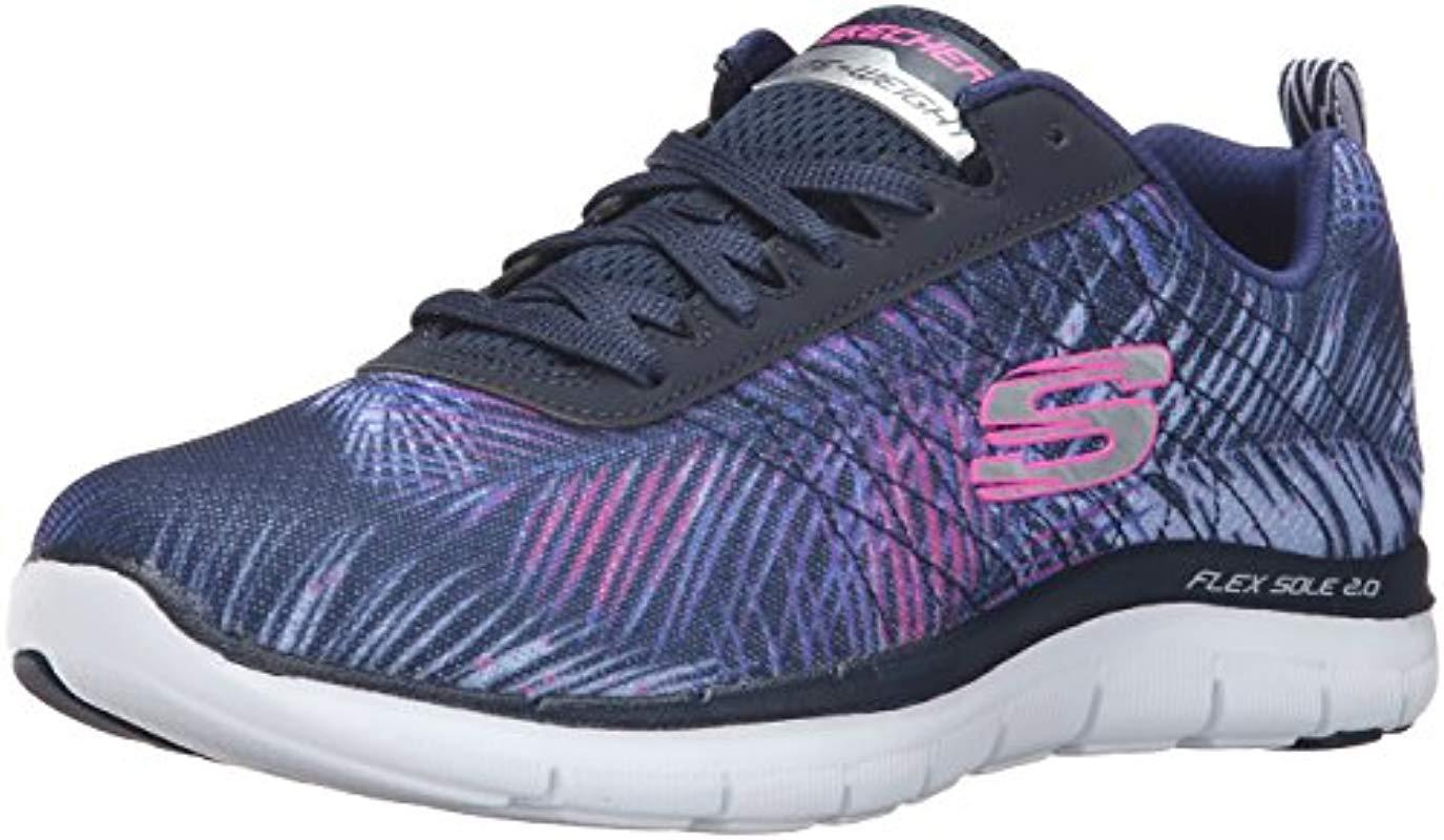c155aafe4c6 Skechers Flex Appeal 2.0 Tropical Bree Multisport Outdoor Shoes in ...
