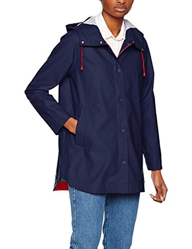 Tommy Hilfiger Bonnie Rainwear Parka Jacket in Blue - Lyst b89e24637c