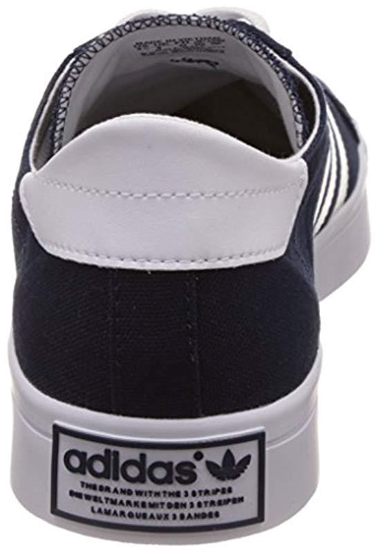 d40403453429eb Adidas  s Court Vantage Low-top Sneakers in Blue for Men - Lyst