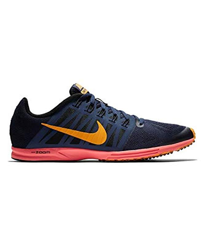 new concept 0b4e8 ef2e7 Nike Unisex Adults Air Zoom Speed Racer 6 Competition Running Shoes,  Multicolour (blackened Blue orange Peel black 400), 6 Uk in Blue for Men -  Lyst